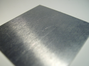 Aluminium sheet metal cutting