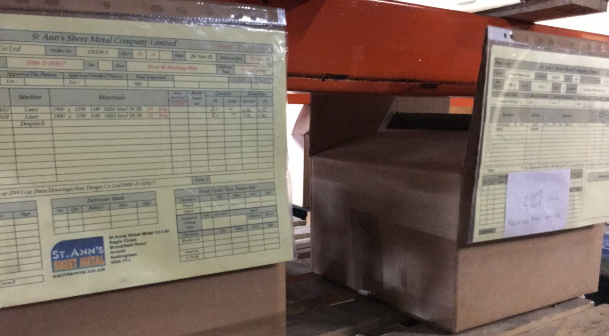 Product inspections Data Sheet Laser Cutting