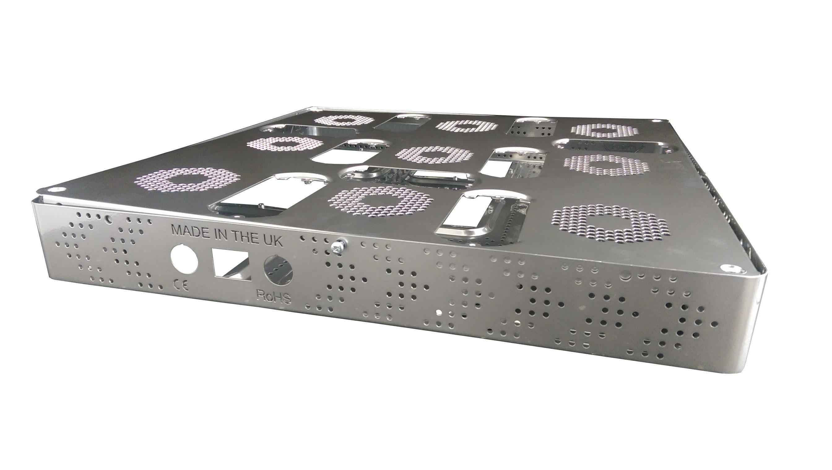 led hydroponic sheet metal