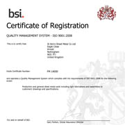 Certificate Document