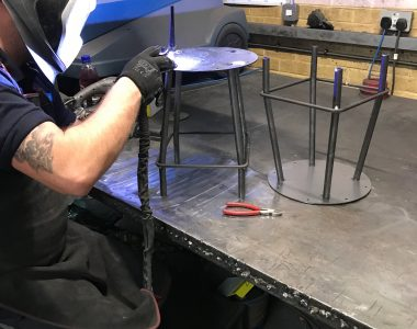 Welding Sushi Chair Legs