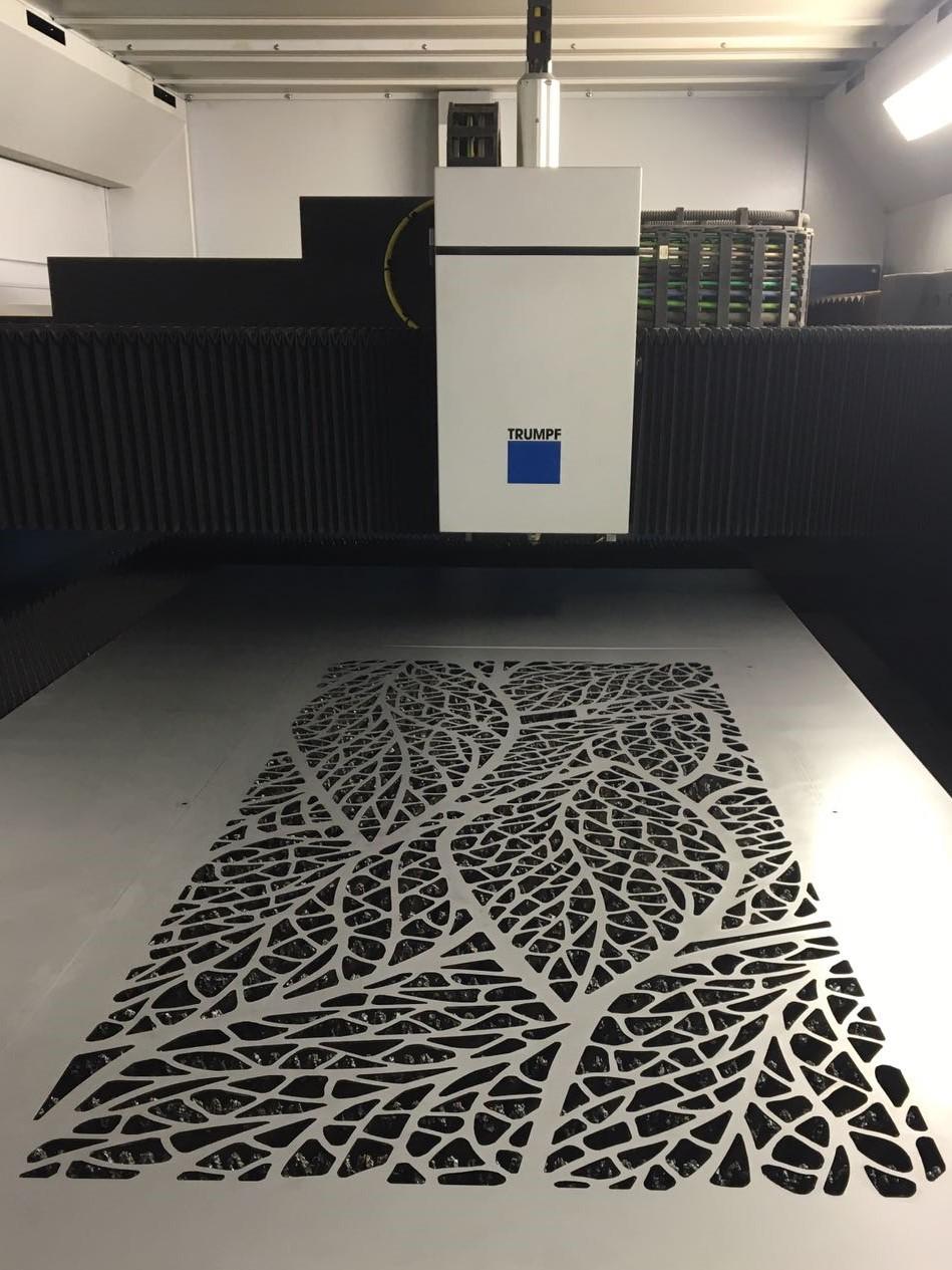 Decorative Panels Laser Cut St Anns Sheet Metal