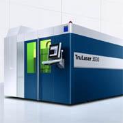 TruLaser 3030 fiber: Die Standardmaschine mit Festkörperlaser.